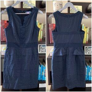 Antonio Melani Sleeveless Dress Navy Size 4